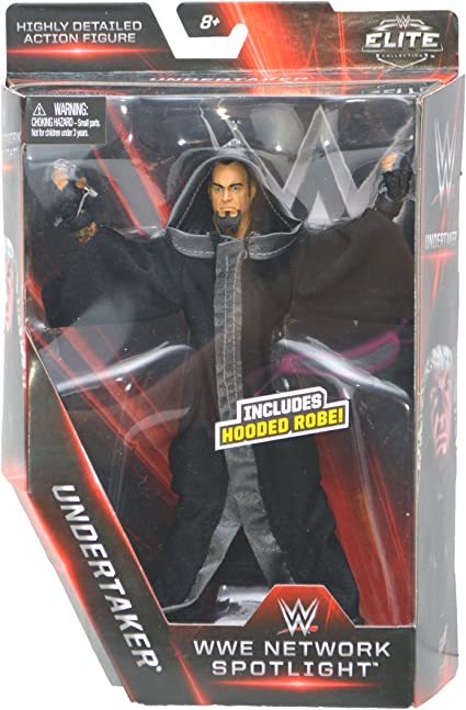 WWE Elite Collection WWE Network Spotlight The Undertaker Ministry of Darkness Exclusive Action Figure 7 Inches