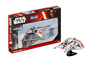 Revell- Star Wars Snowspeeder, Kit modele, Escala 1:52 (03604)
