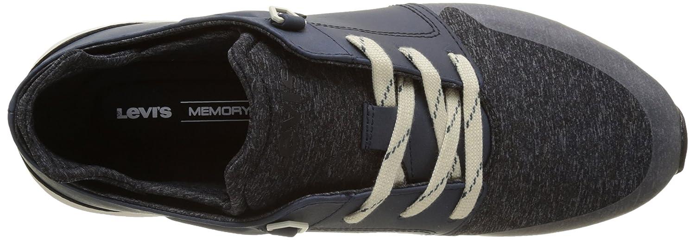 les hommes / noir femmes levi & eacute; est noir / ardoise runner faible haut baskets attrayantes et durables bv823 une g amme de prix de détail 796c9d