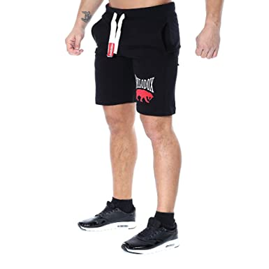 SMILODOX Herren Shorts 'Classic' | Kurze Hosen für Sport Fitness Gym  Training & Freizeit