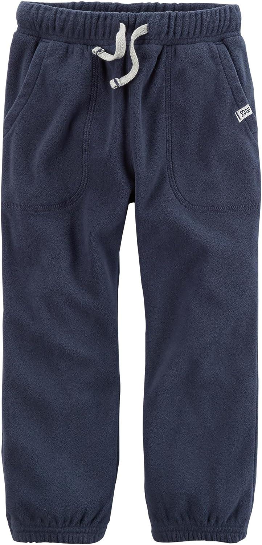 3M Carters Boys Pull-On Fleece Joggers; Navy