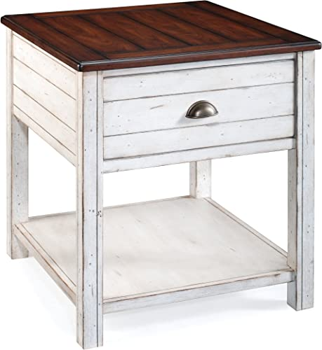 Magnussen Bellhaven Wood Rectangular End Table