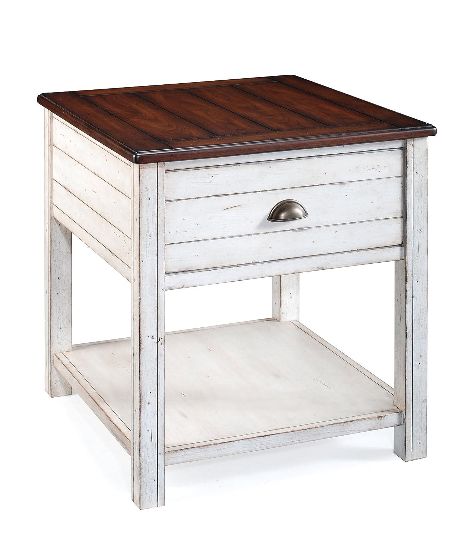 Amazon Magnussen Bellhaven Wood Rectangular End Table