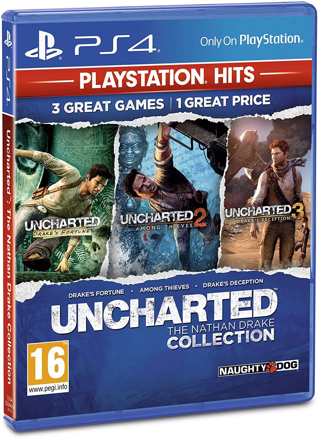 Amazon Com Uncharted The Nathan Drake Collection Video Games