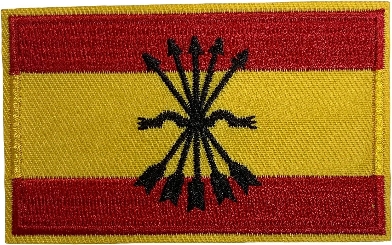 Gemelolandia | Parche Bandera de España Falange 8x5 cm | Muy ...