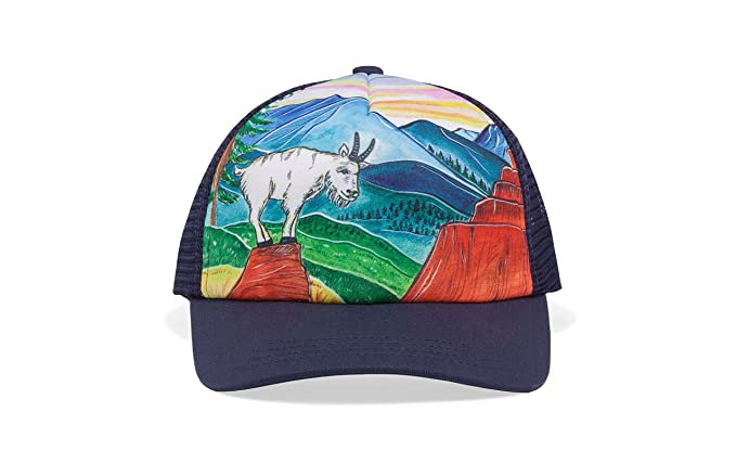 8cb58ff16 Sunday Afternoons Kids & Baby Kids Artist Series Trucker Cap, Mountain  Goat, One Size