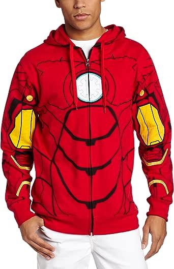 Marvel Men's My Iron Suit Hooded Costume Fleece