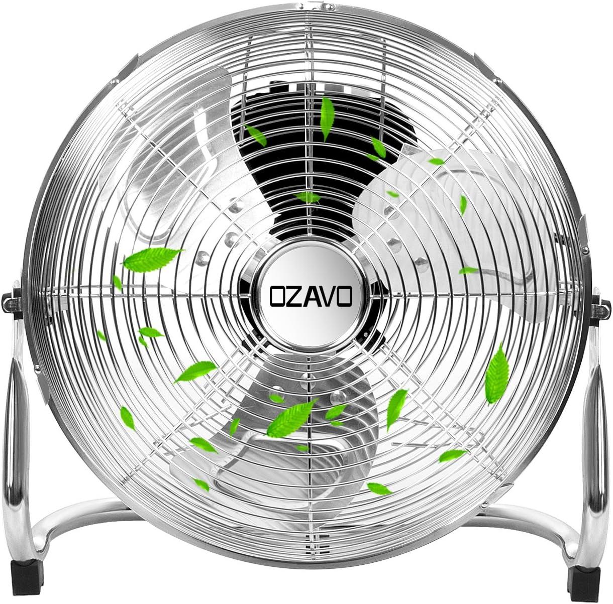 OZAVO Ventilador de Suelo 40CM, Power Fan, Metálico Máquina de ...