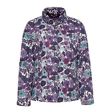 Amazon.com: stomsera ropa de mujer flores collar de plumón ...