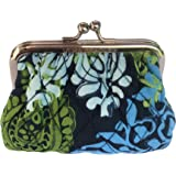 Vera Bradley Kiss Coin Purse in Caribbean Sea