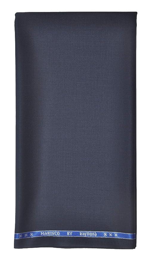 9c2c66ea7db Raymond Men s Poly Viscose Unstitched 3 m Suit Fabric (Blue