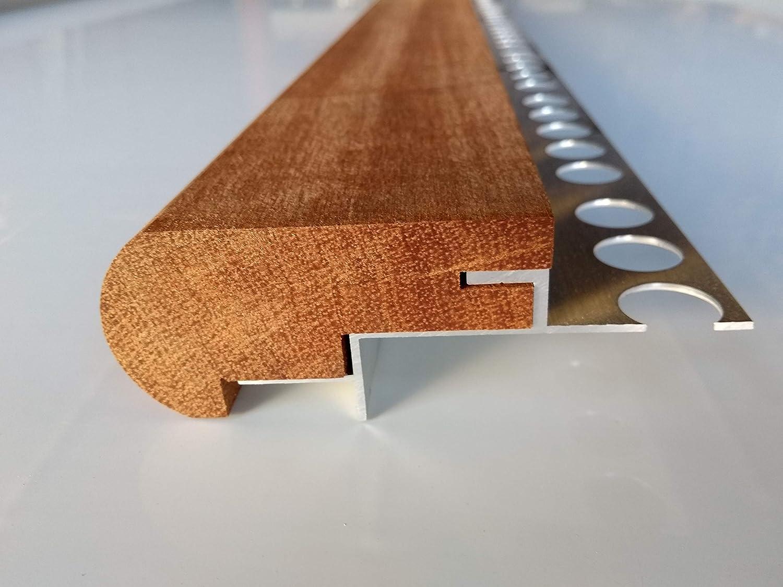 Mamperlán madera maciza Niagón para peldaño y escalera (1,20): Amazon.es: Bricolaje y herramientas