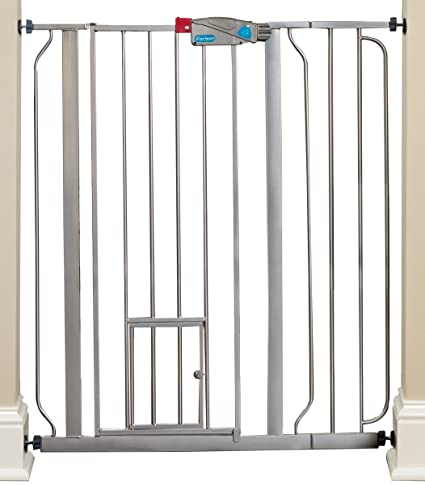 Amazon Carlson Pet Products Platinum Extra Tall Gate With Pet