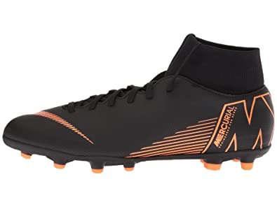 free shipping bcf3c 9dae0 Nike Mens Superfly 6 Club (MG) Multi-Ground Football Boot BlackTotal