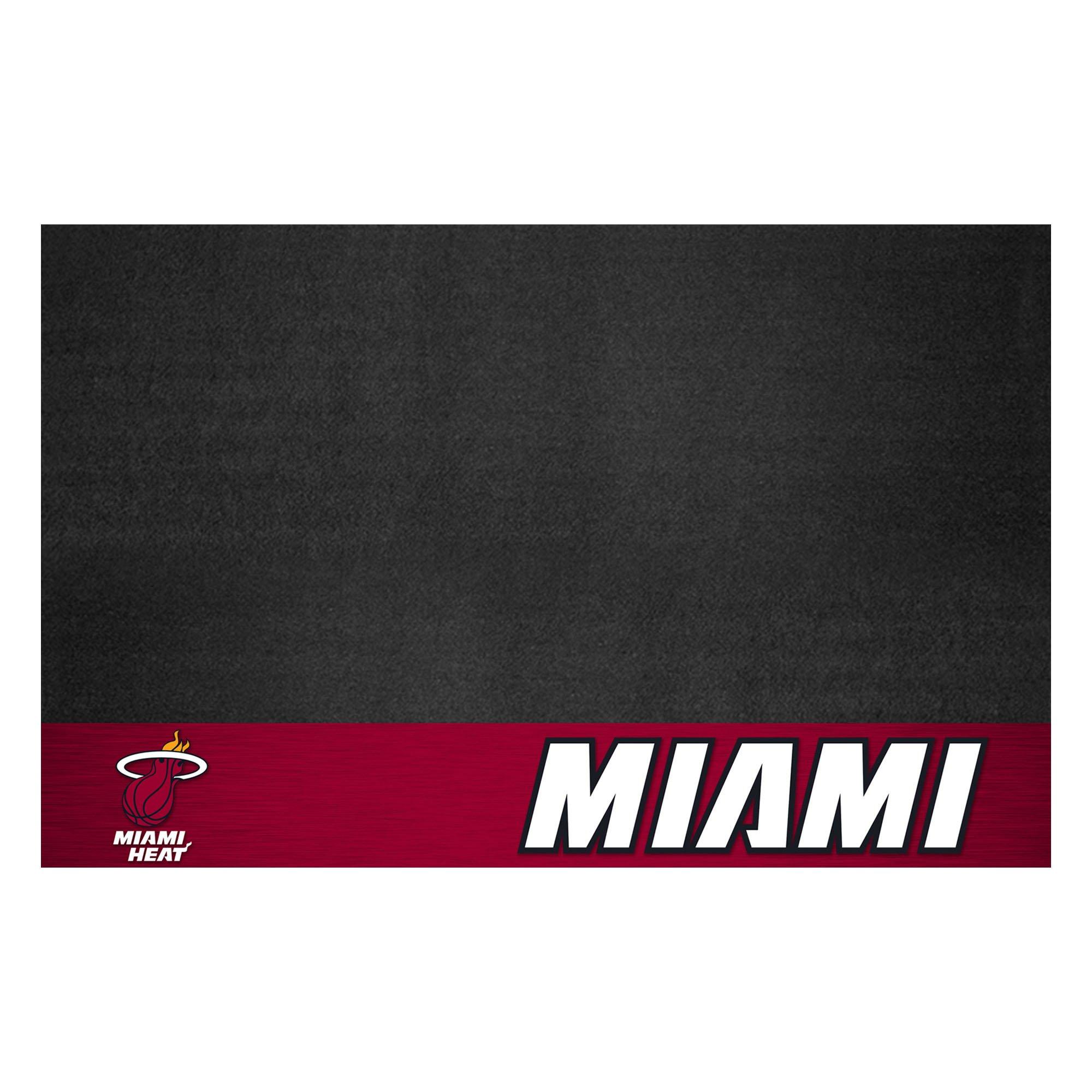 Fanmats 14210 NBA Miami Heat Grill Mat