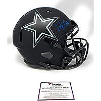 Dak Prescott Dallas Cowboys Signed Autograph ECLIPSE Speed Full Size Speed Helmet Fanatics Certified photo
