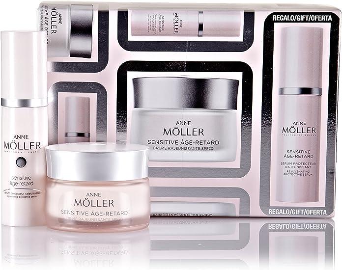 Anne Möller Pack Crema Sensitive 50 ml + Serum 30 ml: Amazon.es ...