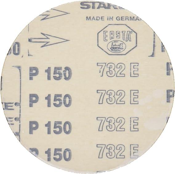 set of 5 Proxxon 28162 Adhesive sanding discs for TG 125//E 150 grit