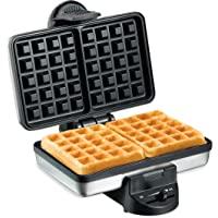 Hamilton Beach 2-Slice Non-Stick Belgian Waffle Maker with Browning Control, Indicator Lights, Compact Design, Premium…