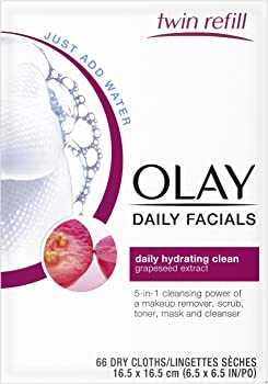 66 Count Olay 5-In-1 Daily Facial Clean Up Wipes