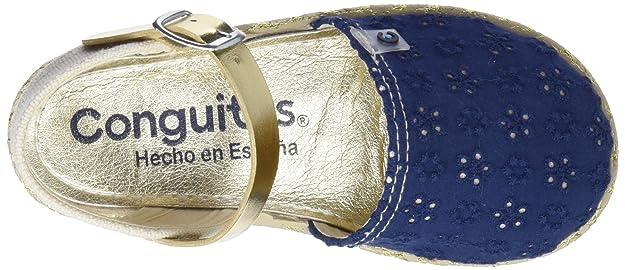 Conguitos Sandalia Yute, Alpargatas para Niñas: Amazon.es: Zapatos y complementos
