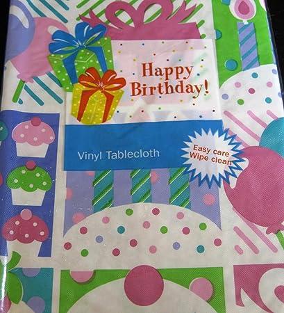 Amazon.com: Feliz Cumpleaños Cupcakes, velas y globos de ...