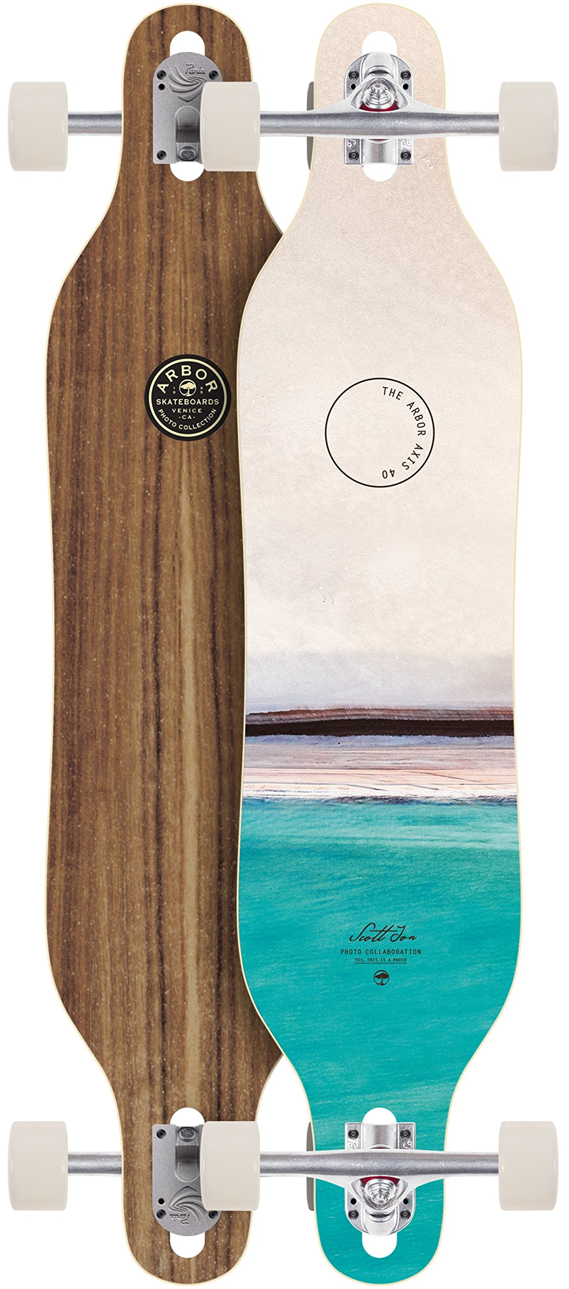 Arbor Axis Photo Series Longboard Skateboard Complete 2018 New