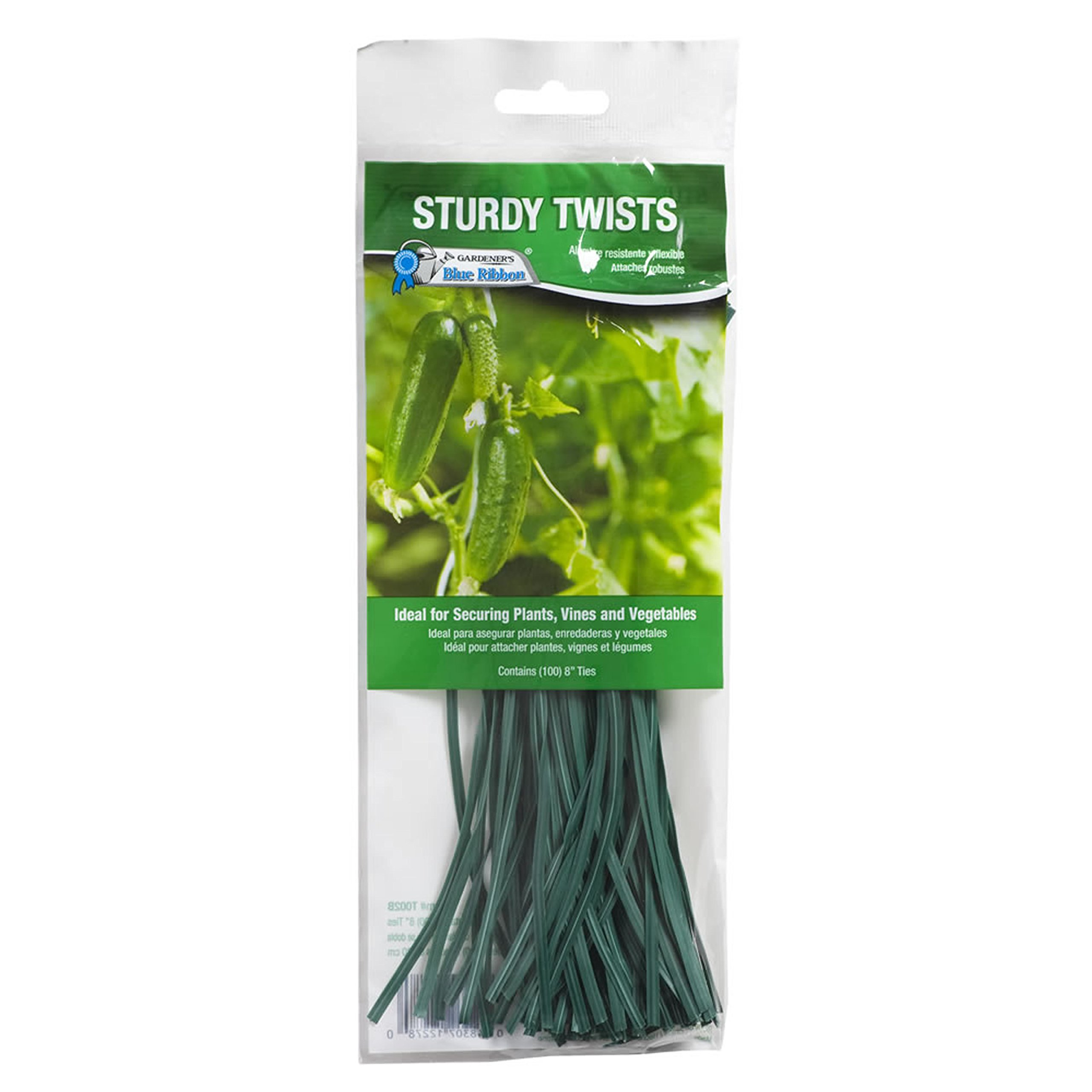 Gardener's Blue Ribbon T002B Ties Twist Tie, 8''