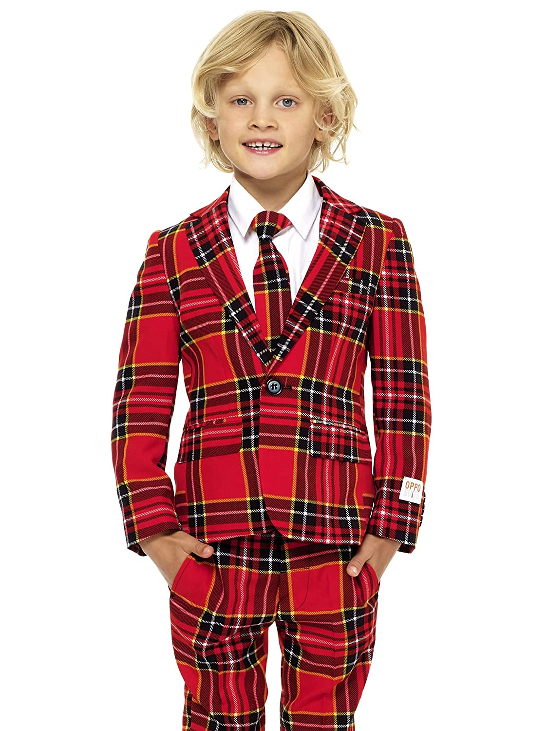 Opposuits Fun Christmas Suits - Full Set: Jacket, Pants and Tie OSBO-Boy-Winter
