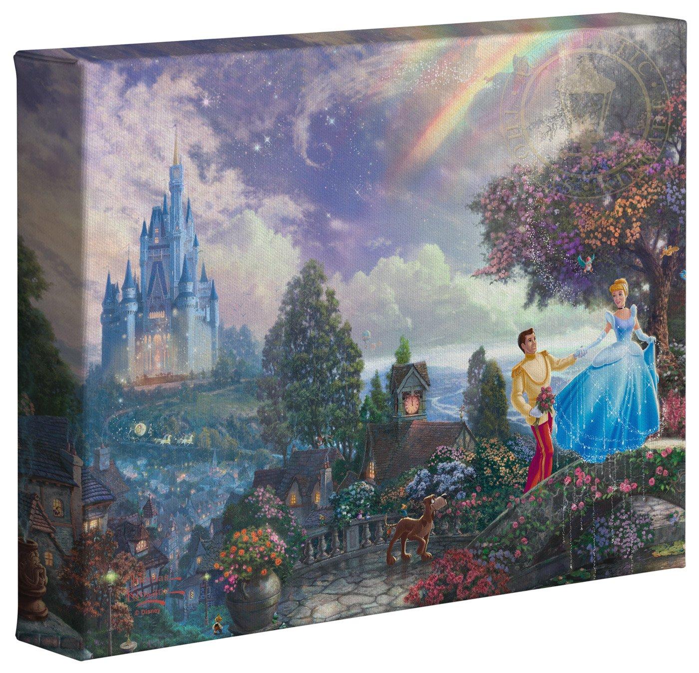 Thomas Kinkade Studios Disney Dumbo 8 x 10 Gallery Wrapped Canvas
