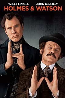 Book Cover: Holmes & Watson