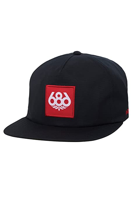 a249519a0f1 Amazon.com  686 Men s Waterproof Snapback Hat