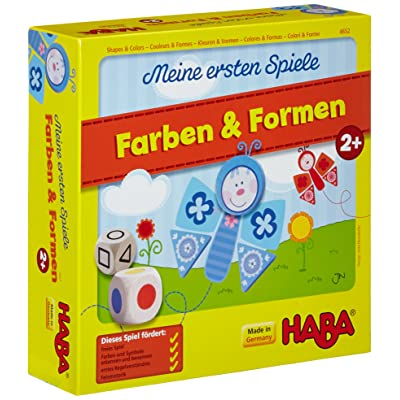 HABA My very first games - Shapes and Colors - shape and color matching: Baby