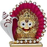 Kulin God Jagannath Idol For Car Dashboard   Home Decor   Gifting   Showpiece - 6.2 X 6.2 cm