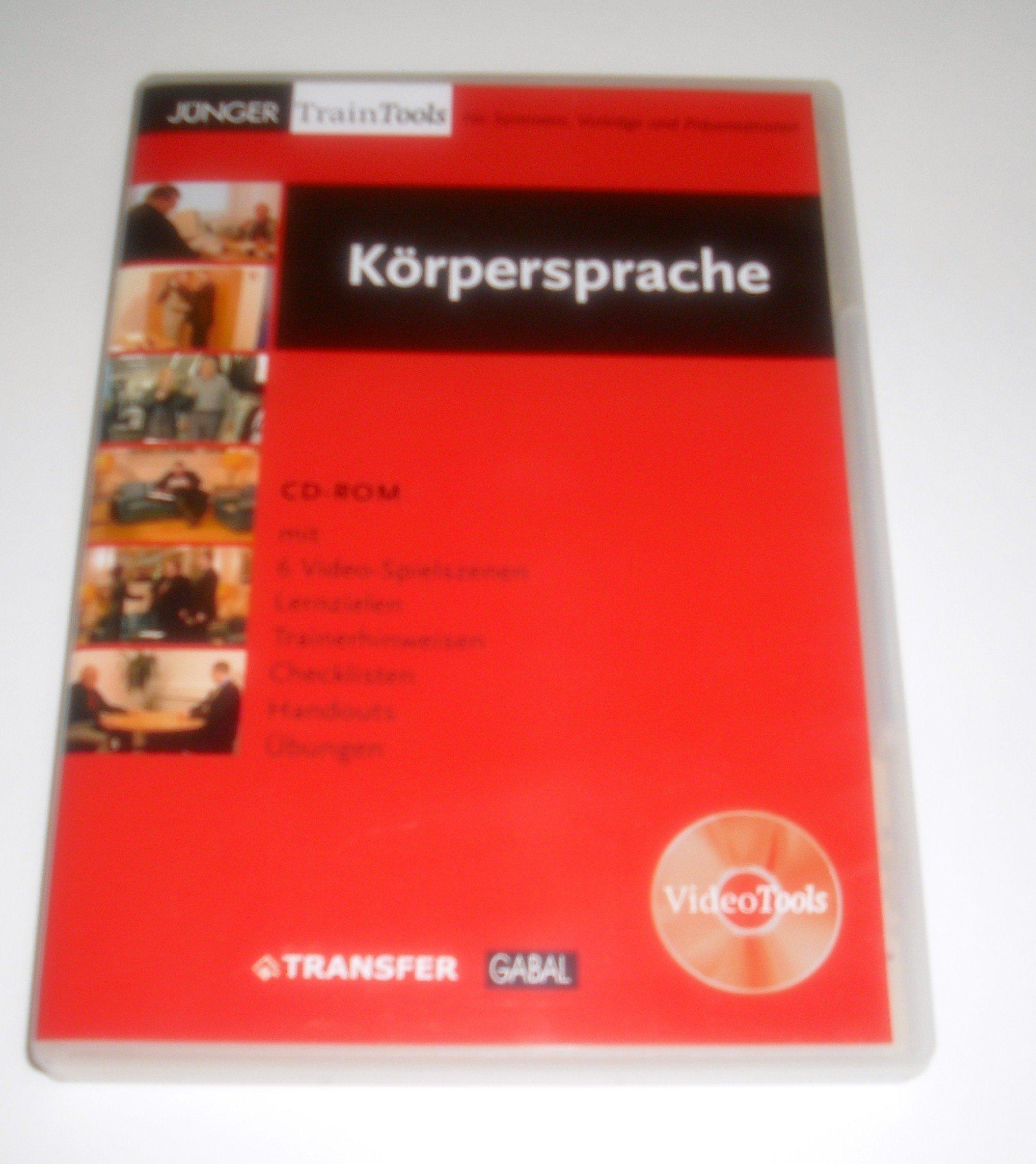 Körpersprache - CD-ROM mit 6 Video-Spielszenen, Lernzielen, Trainerhinweisen, Checklisten, Handouts und Übungen - XP-fähig