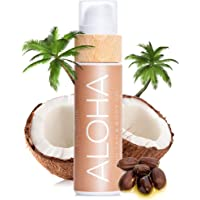 COCOSOLIS Aloha bruiningsversneller met vitamine E, cacaoboter, bruiningscrème en bodylotion cacao, biologische…