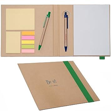 Dazoriginal Notas Adhesivas Bloc de Notas Adhesivas A5 Cuanderno Agenda Libreta