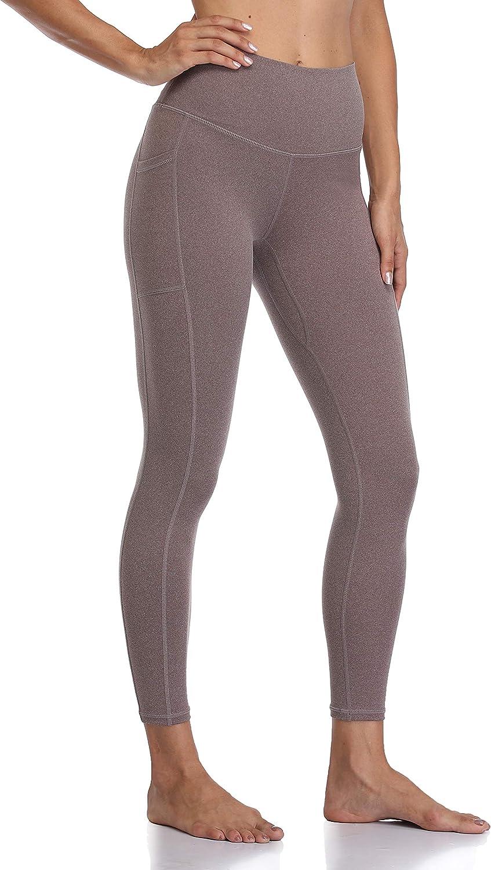 Colorfulkoala Women's High Waisted Yoga Pants 7/8 Length Leggings with Pockets at  Women's Clothing store