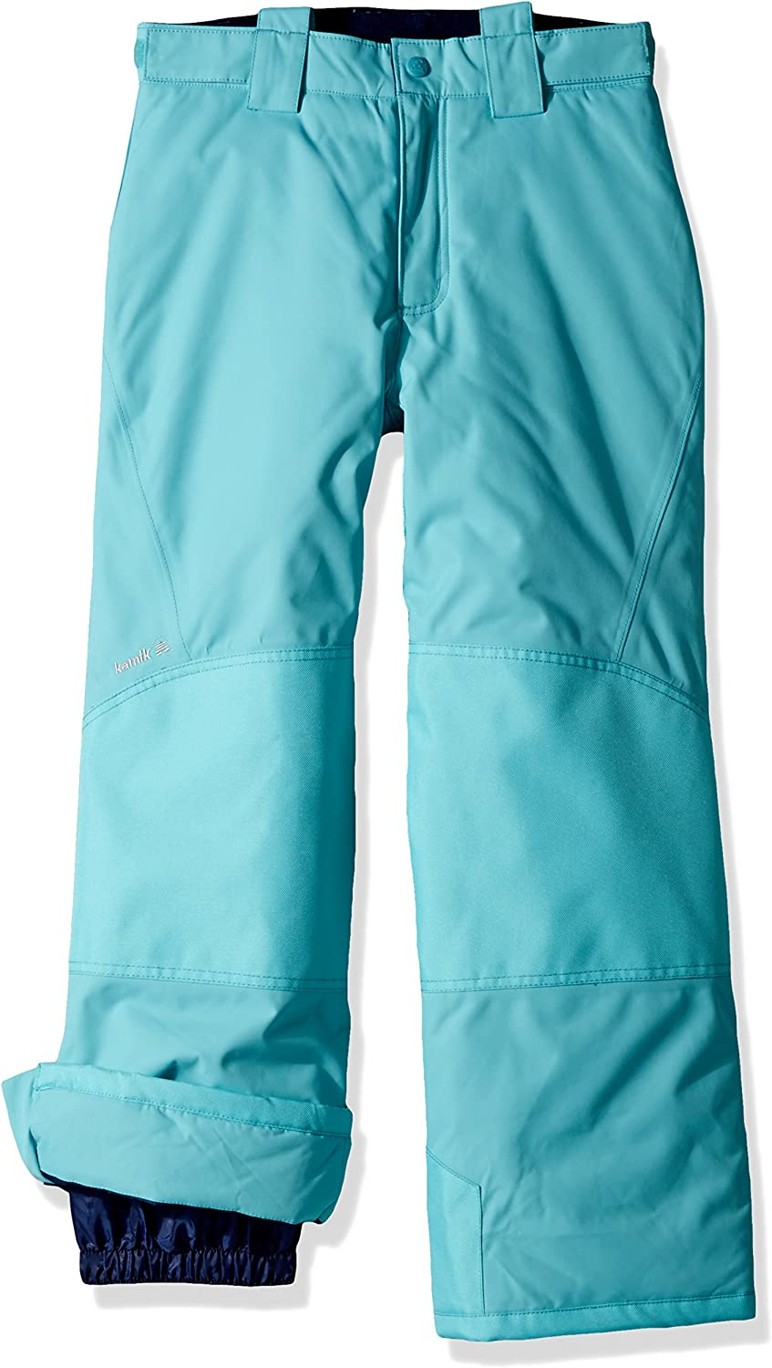 Kamik Winter Apparel Boys and Girls Harper Solid Suspender Pant