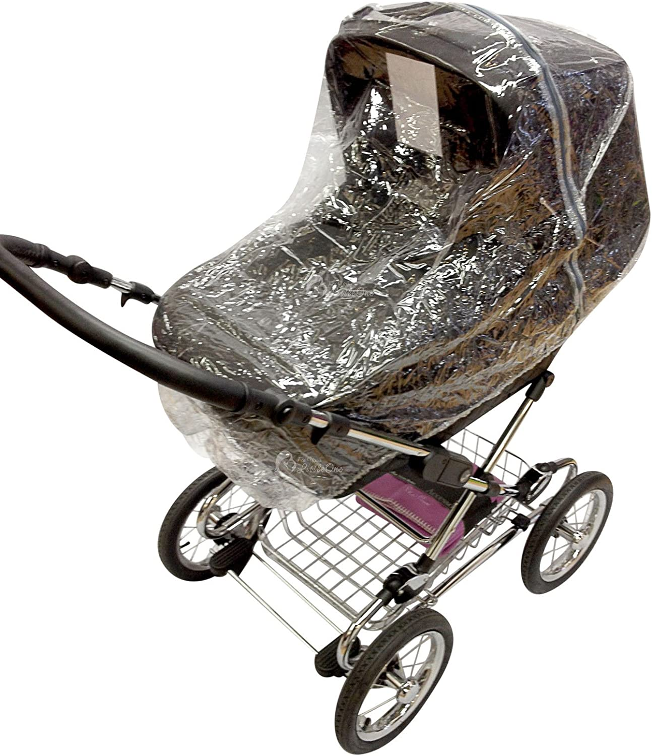 Carrycot Raincover Compatible with Silver Cross