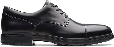 حذاء برباط للرجال من كلاركس، مقاس, (اسود), 11 UK