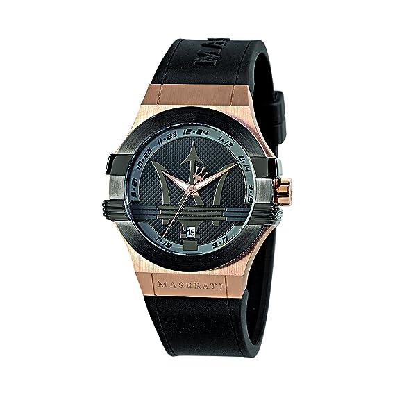 Maserati Reloj Analógico de Cuarzo para Hombre con Correa de Cuero - R8851108002: Maserati: Amazon.es: Relojes