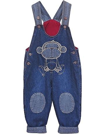 Pantalones de peto para bebés niño | Amazon.es