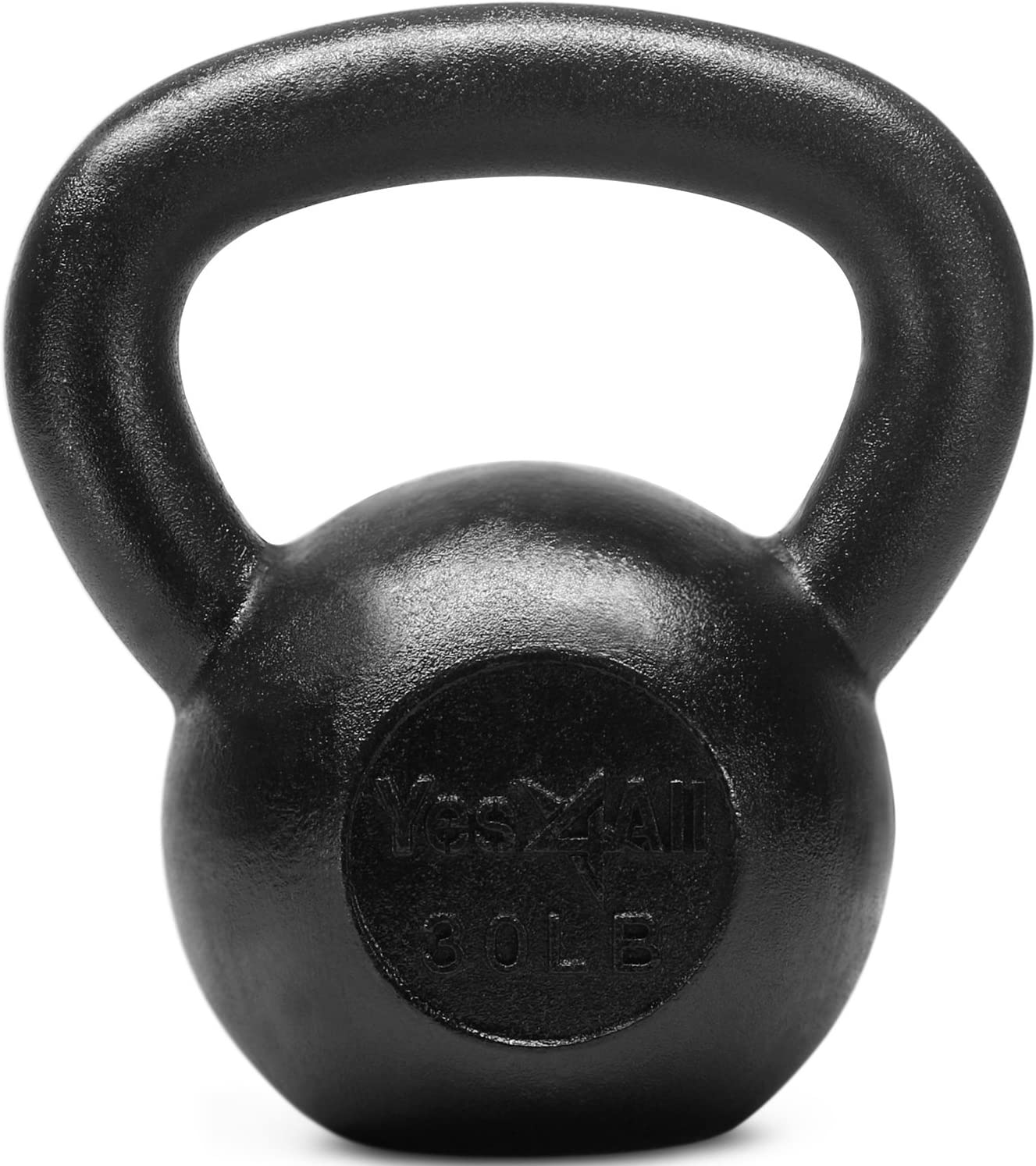 Yes4All Solid Cast Iron Kettlebell Weights Set Great for Full Body Workout and Strength Training
