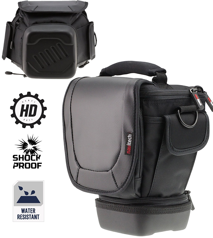Navitech Telescopic Camera DSLR SLR Case Cover Bag for theNikon D610