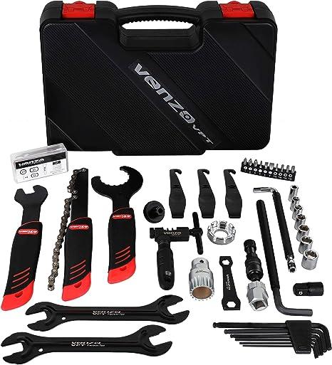 Venzo bicicleta profesional para reparación de bicicletas Kit de ...