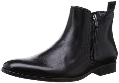 60e28dca9f78a Clarks Banfield Zip, Boots homme, Noir (Black), 47  Amazon.fr ...