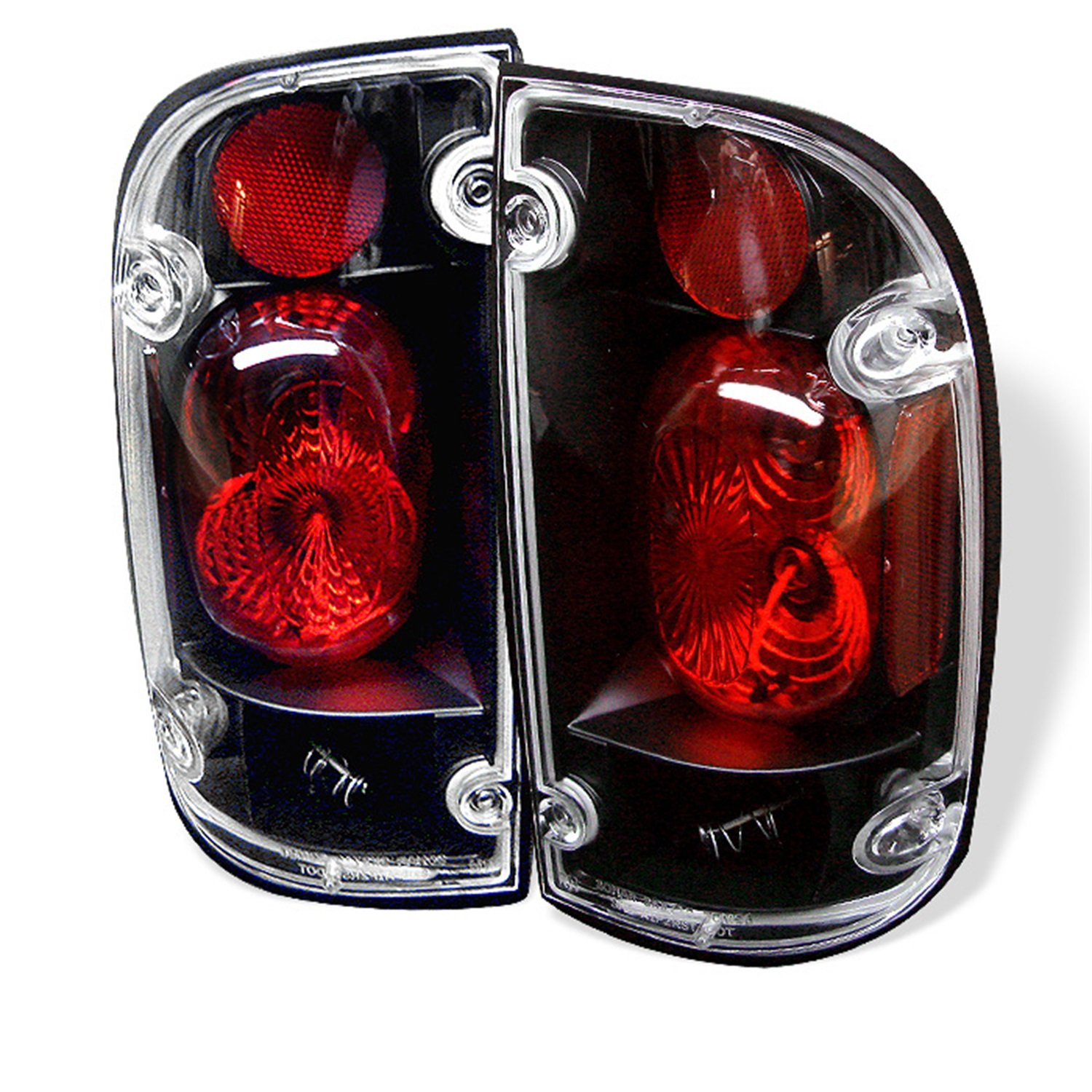 Amazon.com: Spyder Auto Toyota Tacoma Black Altezza Tail Light: Automotive