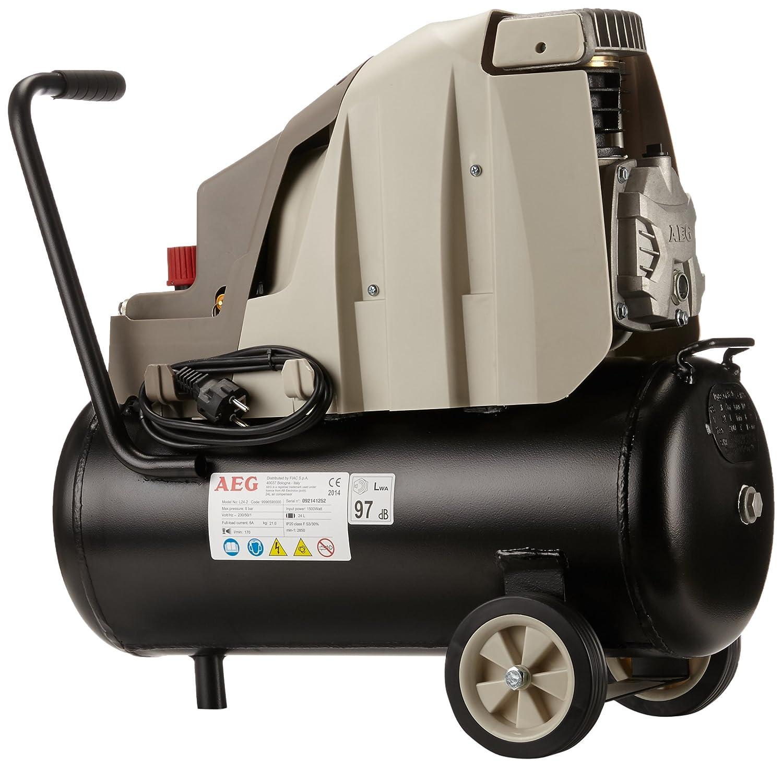AEG-Compresor de Aire Sin Aceite 24 Lt Lubricación de Aceite: Amazon.es: Bricolaje y herramientas