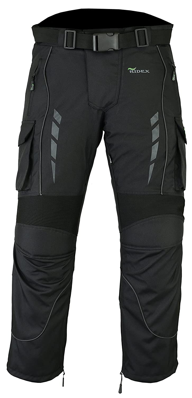impermeables Pantalones de motociclista RIDEX blindados CMT3 t/érmicos
